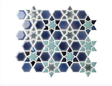 Wall Snowflake Glazed Ice-Crackle Mosaic Tile for sell buying leads