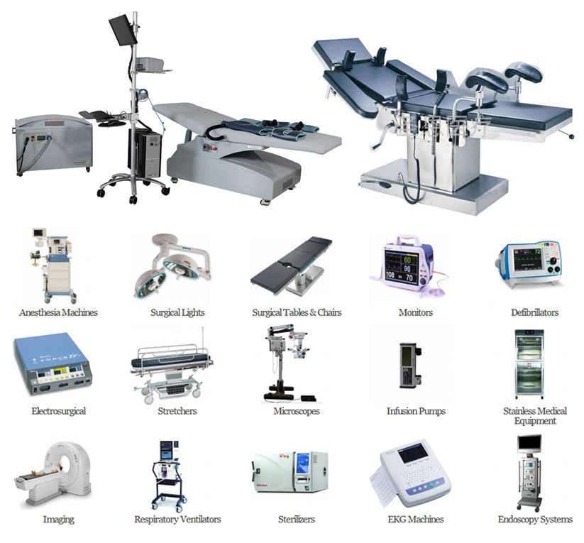 Medical Surgical Hospital Equipment Needed Purchase