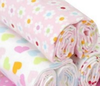 Cotton Fabric/Printed Single Fleece/Flannel Fabric