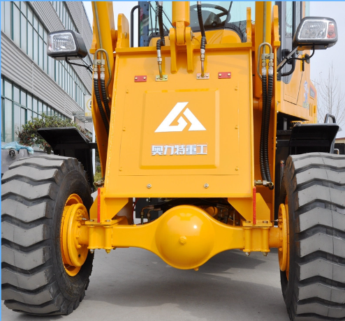 1ton Wheel Loader Mini Tractor Front Loader Low Price Payloader