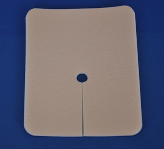 CE FDA Approved Tracheostomy Wound Foam Dressing