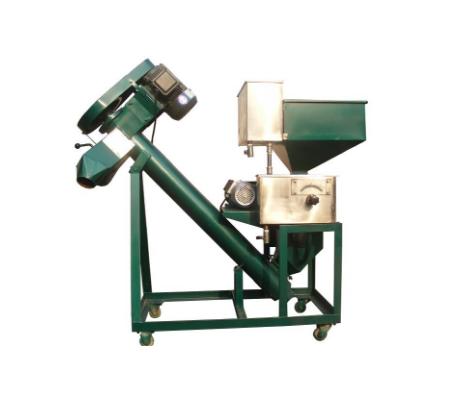 Spoon Feeding Seed Coating Machine (5BY-2)