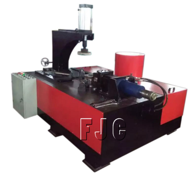 Air Pressure Vessel Head Cover Automatically Hydraulic Necking Machine
