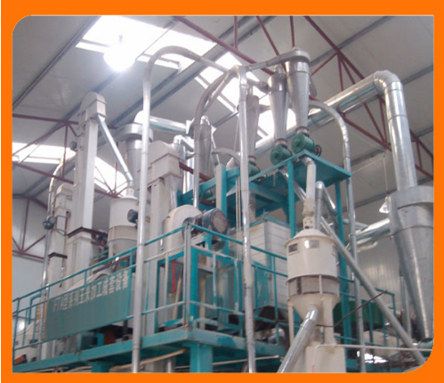 100t/D Complete Corn Milling Machinery/Maize Flour Mill Machine