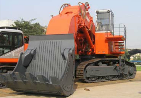 Hydraulic Shovel Excavator with 8cbm Bucket