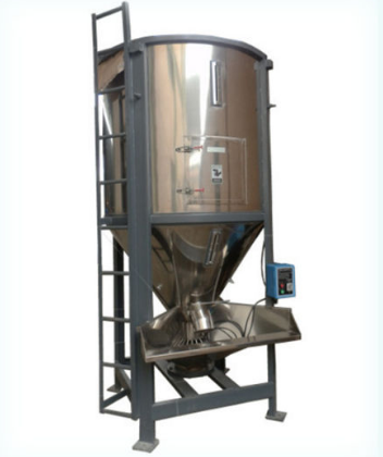 2000 Kg of Large Plastic Stainless Steel Mixer