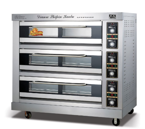 Electric Deck Oven Bread Oven Pizza Oven Baking Oven Bakery Equipment Kitchen Equipment (FKB-3L)