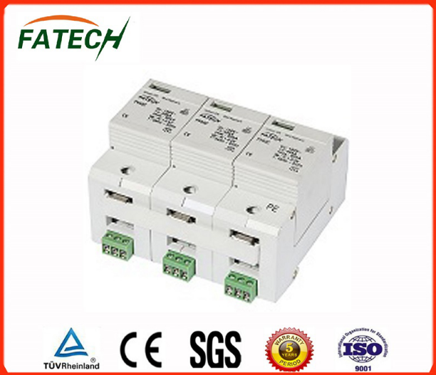 500V Three Phase DC 60ka Solar PV Surge Arrester