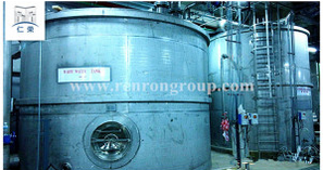 5000L Stainless Steel Pressure Storage Water Tank