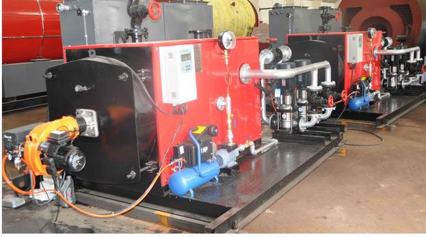 300kw Automatic Fire Tube Diesel Hot Water Boiler