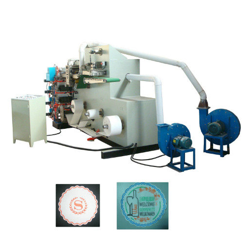 Automatic Bar Tissue Paper Coaster Forming Making Machine