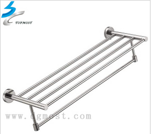 Polishing Hardware Stainless Steel Metal Towel Rack