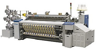 Electronic Feeder Air Jet Loom with Staubli or Bintian Cam