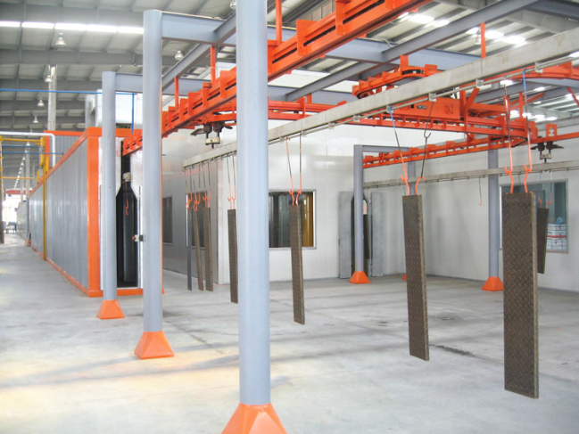 Hot Sell Aluminum Plate Powder Coating Line