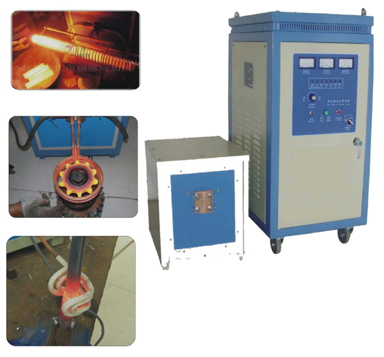 IGBT Technology Electric Induction Heating Hardening Machine for Spline Shafts
