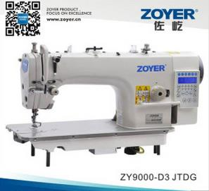 Zy9000d-D3 Zoyer Computer Lockstitch Industrial Sewing Machine with Auto-Trimmer