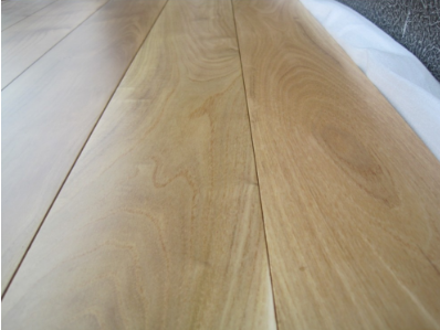 Smooth Surface Chinese Teak Wood Floor