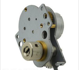 5V Flat Gearbox 49mm Diameter 49e DC Gear Motor