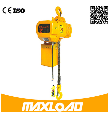 0.5 Ton Electric Chain Hoist with Hook Fixed Type (HHBB0.5-01SF)