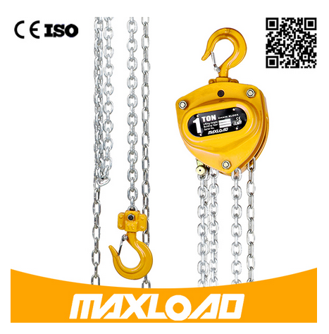 1 Ton Manual Hoist Chain Hoist Chain Block (VD-01T)