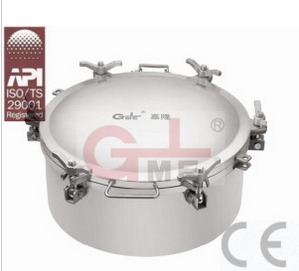 Stainless Steel Chemical Storage Tanker Manhole Cover (H801A-510.2)