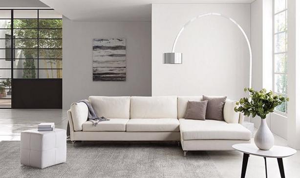 The Latest Korean Leisure Simple Style Genuine Leather Sofa