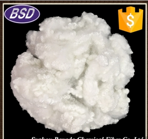2.5D-22D Hollow Conjugated Siliconized Polyester Staple Fiber