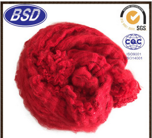Recycled Colored Polyester Staple Fiber Tow for Spinning Yarns