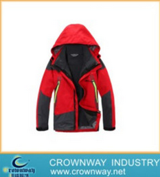 Mens Waterproof High Quality Ski Jacket with Adjustable Hood (CW-MSKIW-75)