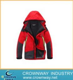 Mens Waterproof High Quality Ski Jacket with Adjustable Hood (CW-MSKIW-75)