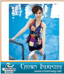 Ladies Fashion Printed Swim Suit / Bathing Suit
