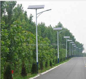 5m 6m Pole 15W 20W 30W LED Solar Street Light