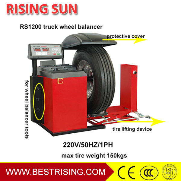 Full automatic truck wheel balancer machine