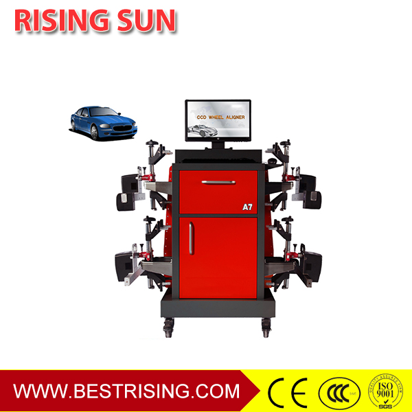 Wireless bluetooth CCD wheel alignment machine