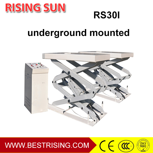 Full rise in ground scissor lift for sale