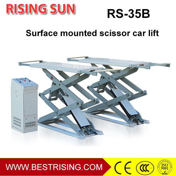 Garage used full rise scissor lift