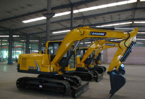Baoding Excavator Bd90 Crawler Excavator with Yellow/0.5m3 Bucket