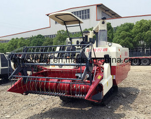 Crawler Type Thresher Axial Flow Rice Harvester