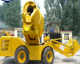 Self Loader Concrete Mixer for Sale