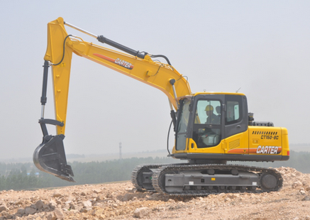 Carter CT150-8c (15T) Multifunction Hydraulic Heavy Duty Backhoe Crawler Excavator