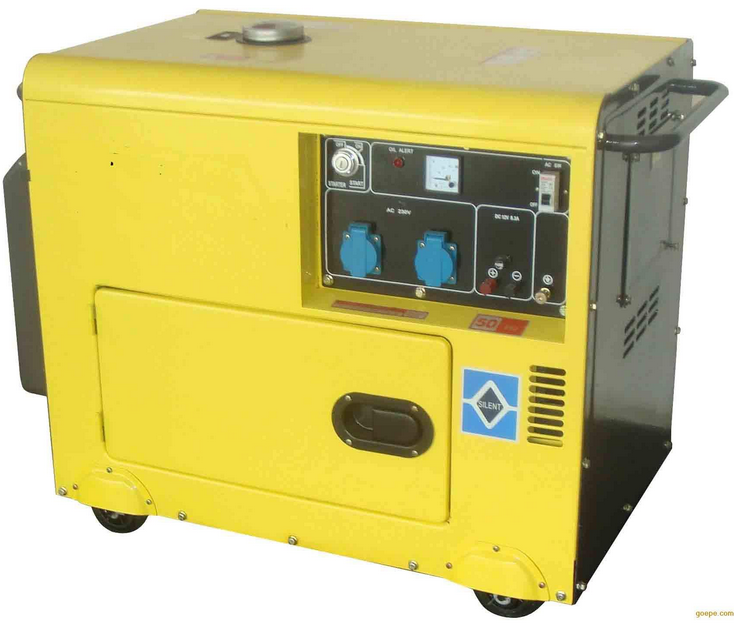 5000W Soundproof Small Portable Diesel Generator with CE/CIQ/ISO/Soncap