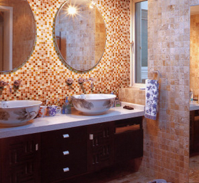 Bathroom Swimming Pool Ceramic Glass Mosaic Tile