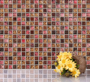 Classical Crystal Glass Mosaic and Resin Mosaic (M815028)