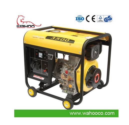 CE Approved 3kw Small Diesel Generator (WH3500DG)
