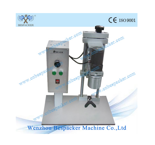Tabletop Aluminum Bottle Screw Capping Machine