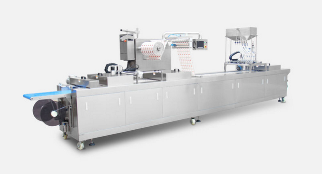 Automatic Thermoforming Vacuum Packaging Machine for Cheese (DZL)