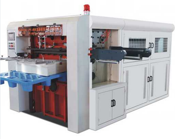 High Speed Automatic Roll Creasing Die-Cutting Machine