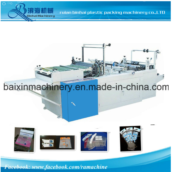OPP Film Side Sealing Bag Making Machine with Flap