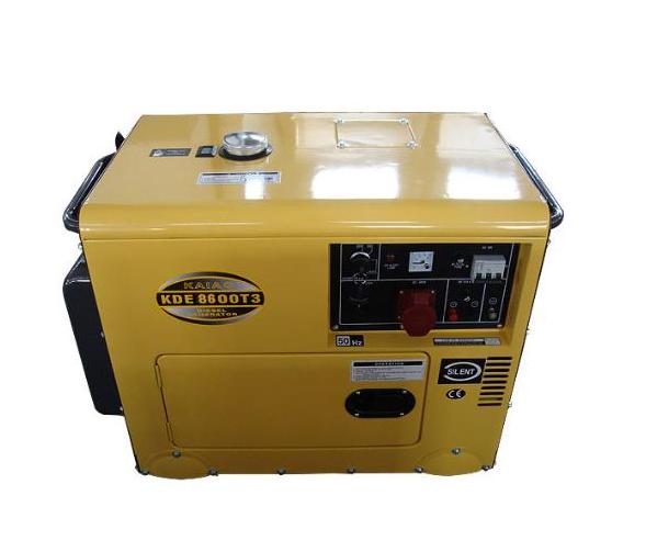 6.5-7KVA  Mute Type Portable Diesel Genset