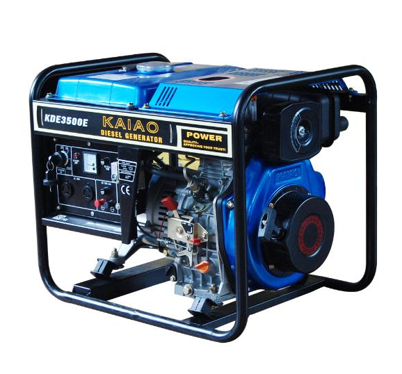 2.8-3kw Open Type Key Starting Diesel Generator